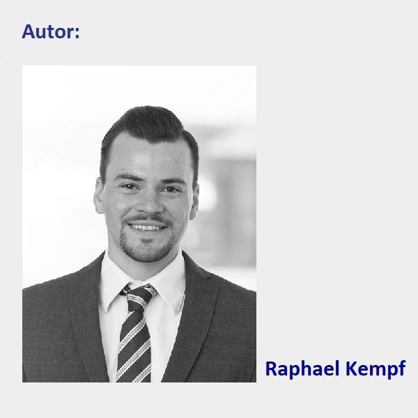 """Ein Schwarzweis-Bild vom Blog-Autor """"Raphael Kempf""""."""
